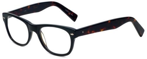 Eyefly Designer Eyeglasses Mensah-Jomo-Street in Black 50mm :: Rx Single Vision