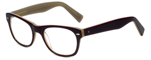 Eyefly Designer Eyeglasses Mensah-Jomo-Street in Eggplant 50mm :: Rx Single Vision