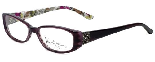 Vera Bradley Designer Eyeglasses Alyssa-PRD in Portobello Road 52mm :: Custom Left & Right Lens