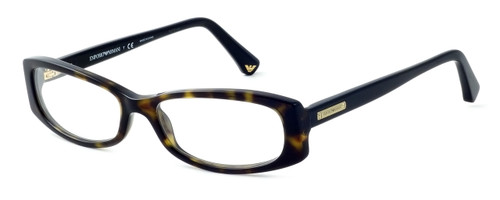 Emporio Armani Designer Eyeglasses EA3007-5026-51mm in Havana :: Rx Bi-Focal