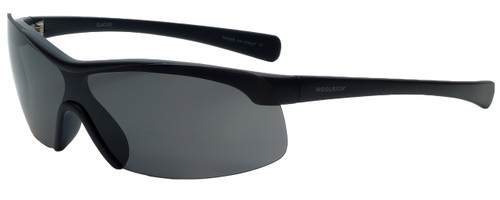 Woolrich Glacier Designer Sunglasses in Black with Grey Lens