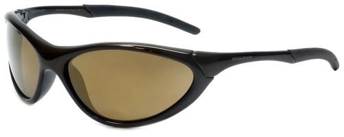 Woolrich Survivor Designer Sunglasses in Dark Olive with Amber Lens