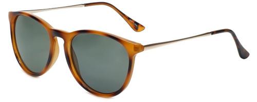 Isaac Mizrahi Designer Sunglasses IMM103-29 in Honey Tortoise with Grey Lens