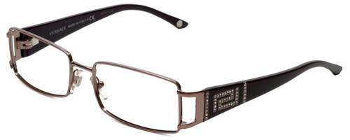Versace Designer Eyeglasses 1163B-1333 in Plum 52mm :: Progressive