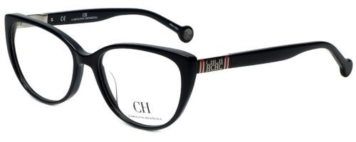 Carolina Herrera Designer Eyeglasses VHE710K-700Y in Black 53mm :: Custom Left & Right Lens