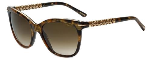 Chopard Designer Sunglasses SCH207S-09GF in Brown Havana with Brown Gradient Lens