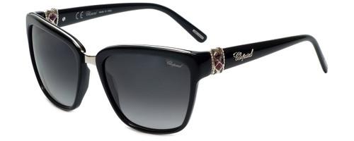 Chopard Designer Sunglasses SCH210S-700Y in Black with Grey Gradient Lens