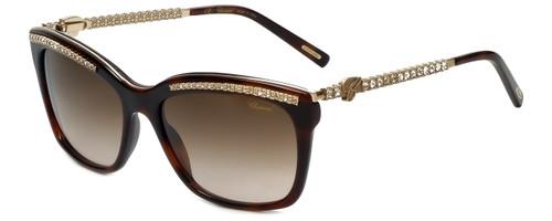 Chopard Designer Sunglasses SCH211S-09XK in Dark Havana with Brown Gradient Lens