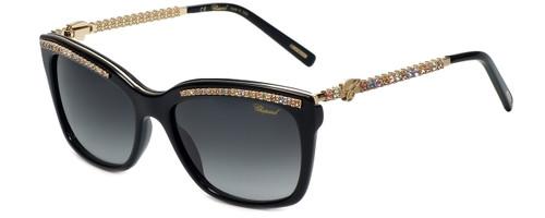 Chopard Designer Sunglasses SCH211S-700M in Black with Grey Gradient Lens