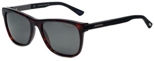 Chopard Designer Polarized Sunglasses SCH218-777P in Brown Honey Havana with Grey Lens