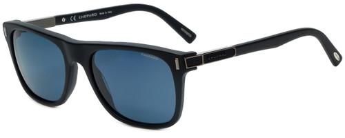 Chopard Designer Polarized Sunglasses SCH219-703P in Matte Black with Grey Lens