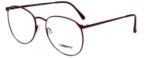 Liberty Optical Designer Eyeglasses LA-4C-7 in Antique Red 57mm :: Rx Single Vision