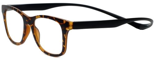 Magz Designer Eyeglasses Chelsea in Tortoise 50mm :: Custom Left & Right Lens