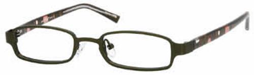 Seventeen Designer Eyeglasses 5344 in Brown :: Rx Single Vision