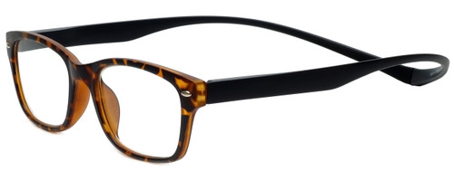 Magz Designer Eyeglasses Greenwich in Tortoise 50mm :: Rx Single Vision