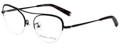 Kendall + Kylie Designer Eyeglasses Marianna KKO138-002 in Black 51mm :: Custom Left & Right Lens