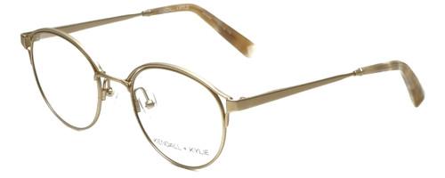 Kendall + Kylie Designer Eyeglasses Samara KKO139-718 in Light Gold 49mm :: Custom Left & Right Lens