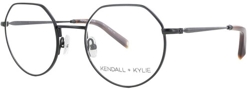 Kendall + Kylie Designer Eyeglasses Ivy KKO116-342 in Green 47mm :: Custom Left & Right Lens