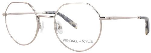 Kendall + Kylie Designer Eyeglasses Ivy KKO116-780 in Rose Gold 47mm :: Custom Left & Right Lens