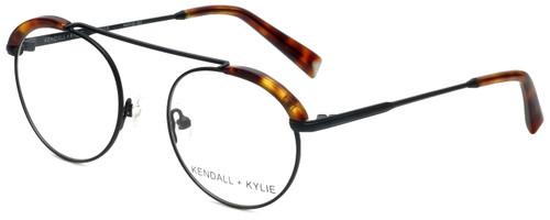 Kendall + Kylie Designer Reading Glasses Stacie KKO130-002 in Black 48mm
