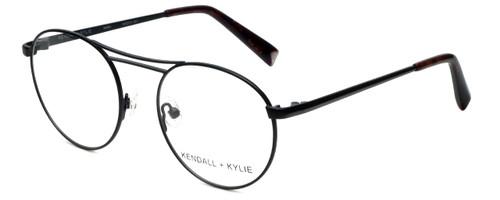 Kendall + Kylie Designer Reading Glasses Nikki KKO131-001 in Black 50mm