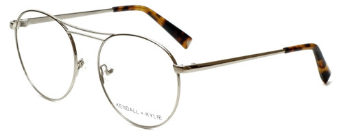 Kendall + Kylie Designer Reading Glasses Nikki KKO131-045-50 in Silver 50mm