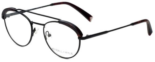 Kendall + Kylie Designer Reading Glasses Shayne KKO132-002 in Black 50mm
