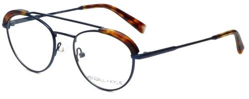 Kendall + Kylie Designer Reading Glasses Shayne KKO132-403 in Dark Blue 50mm