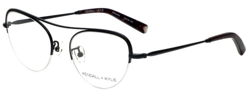 Kendall + Kylie Designer Reading Glasses Marianna KKO138-002 in Black 51mm