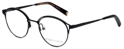 Kendall + Kylie Designer Reading Glasses Samara KKO139-001 in Black 49mm