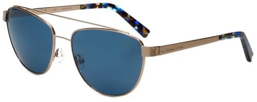 Kendall + Kylie Designer Sunglasses Lexi KK4002-407 in Rose Gold 56mm