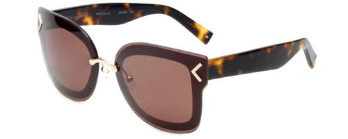 Kendall + Kylie Designer Sunglasses Priscilla KK4003-770 in Gold Tortoise 65mm
