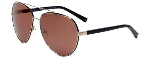 Kendall + Kylie Designer Sunglasses Harley KK4004-770 in Black Gold 61mm