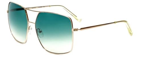 Kendall + Kylie Designer Sunglasses Sophie KK4008-719 in Shiny Light Gold 62mm