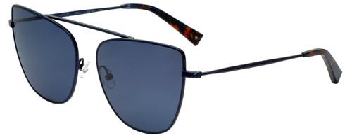 Kendall + Kylie Designer Sunglasses Val KK4017-400 in Midnight Blue 60mm