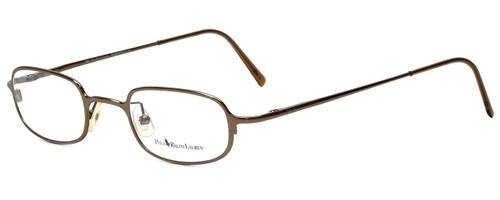 Ralph Lauren Polo Designer Eyeglasses Polo-473-X36 in Gold 44mm :: Custom Left & Right Lens