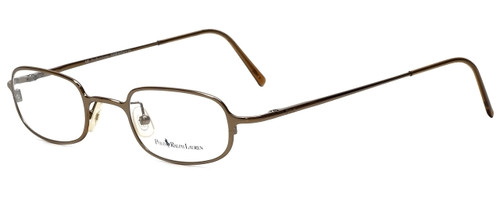 Ralph Lauren Polo Designer Reading Glasses Polo-473-X36 in Gold 44mm
