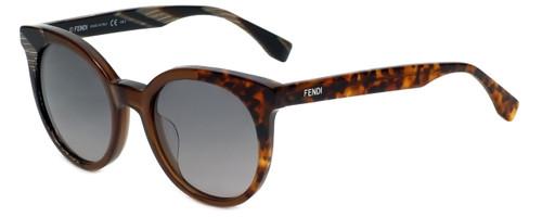 Fendi Designer Sunglasses FF0064-NEI in Horn Brown Havana 51mm
