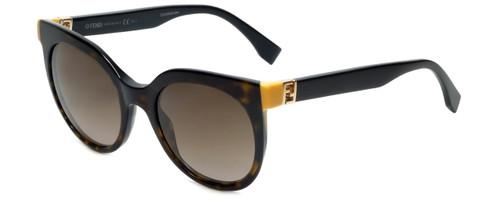 Fendi Designer Sunglasses FF0129-TRD in Dark Havana 51mm