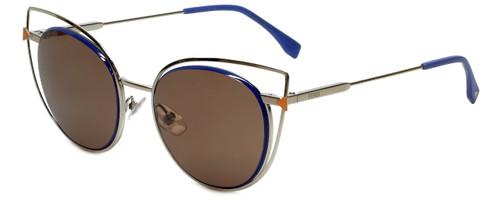 Fendi Designer Sunglasses FF0176-3YG in Silver 53mm