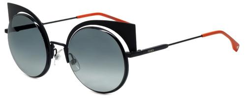 Fendi Designer Sunglasses FF0177-003 in Matte Black 53mm