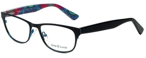 Ana & Luca Designer Eyeglasses Chiara in Black 51mm :: Custom Left & Right Lens