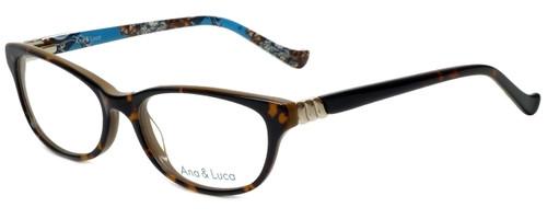 Ana & Luca Designer Eyeglasses Talia in Tortoise 53mm :: Custom Left & Right Lens