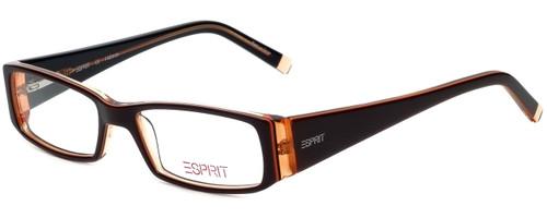 Esprit Designer Eyeglasses ET17333-535 in Brown 49mm :: Custom Left & Right Lens