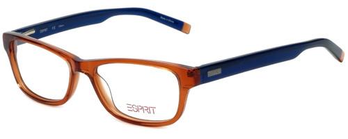 Esprit Designer Eyeglasses ET17340-555 in Orange 51mm :: Custom Left & Right Lens
