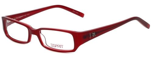 Esprit Designer Eyeglasses ET17345-531 in Red 47mm :: Custom Left & Right Lens