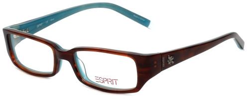 Esprit Designer Eyeglasses ET17345-545 in Havana 47mm :: Rx Single Vision
