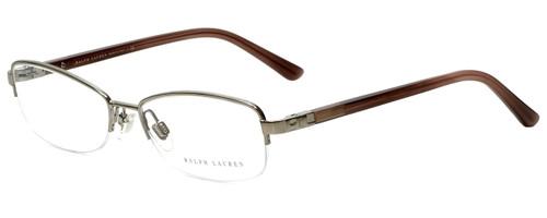 Ralph Lauren Designer Eyeglasses RL5055-9101 in Brown 53mm :: Custom Left & Right Lens