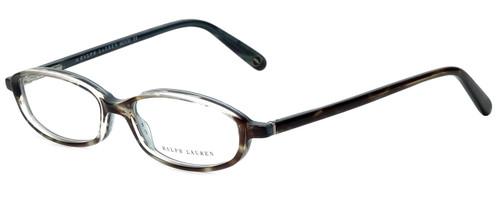 Ralph Lauren Designer Reading Glasses RL648-R5B in Blue Marble 47mm