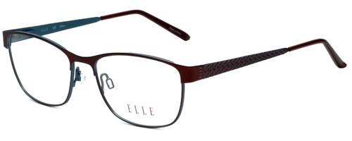 Elle Designer Eyeglasses EL13397-BU in Burgundy 51mm :: Custom Left & Right Lens